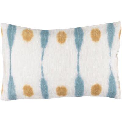 Morford 100% Cotton Lumbar Pillow Cover Color: NeutralYellow