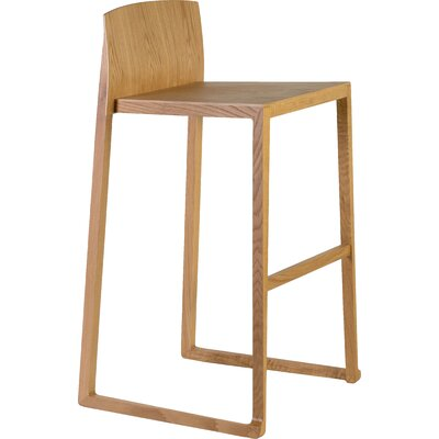 Fairlawn 29 Bar Stool Finish: Oak