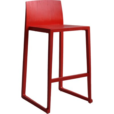 Fairlawn 29 Bar Stool Finish: Red