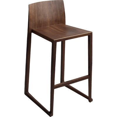 Fairlawn 29 inch Bar Stool Finish: Walnut