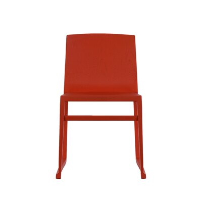 Fairlawn Side Chair Color: Red