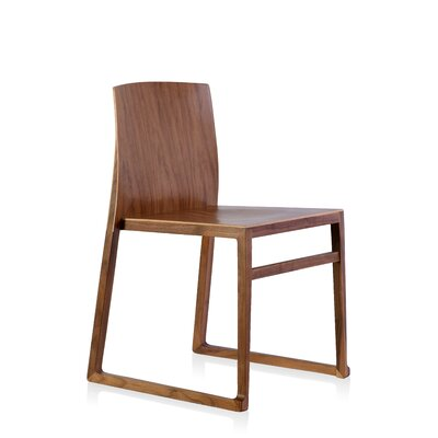 Fairlawn Side Chair Color: Walnut