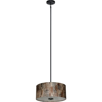 Olivo 3-Light Drum Pendant