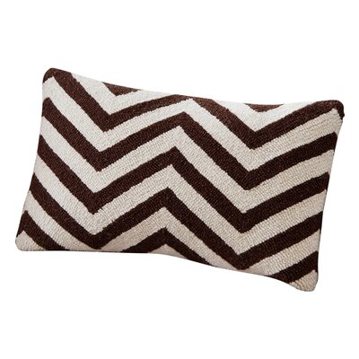 Erebus Chevron Wool Throw Pillow