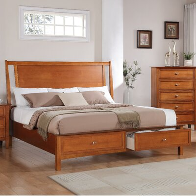 Brayden Studio Aditya Panel Bed