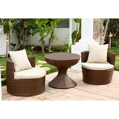 Battista 3 Piece Seating Group with Cushions