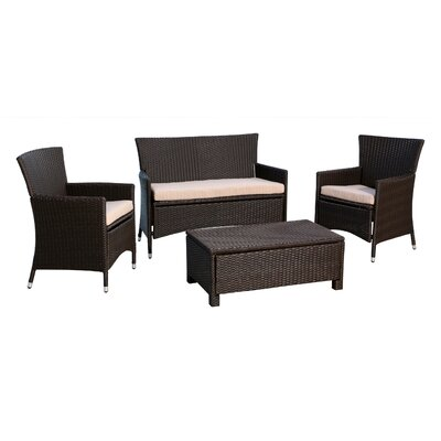 4-Piece Leslie Patio Seating Group