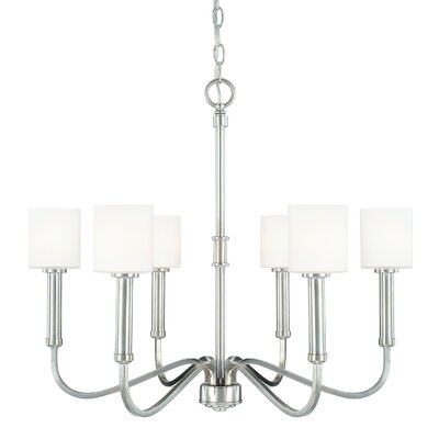 Mette 6-Light Shaded Chandelier
