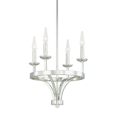 Mette 4-Light Candle-Style Chandelier