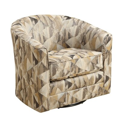 Baugh Swivel Barrel Chair