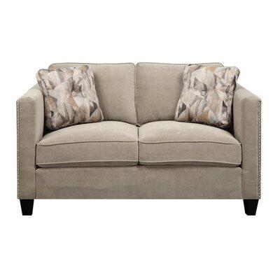 Brayden Studio BRSD8330 28623911 Baugh 66.6″ Loveseat Upholstery