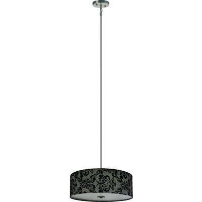 Olivo 4-Light Drum Chandelier Shade Color: Gray Decadence