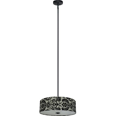 Olivo 4-Light Drum Chandelier Shade Color: White Decadence