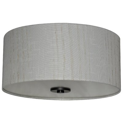 Olivo 16 Silk Drum Pendant Shade Finish: Oklahoma Wheat