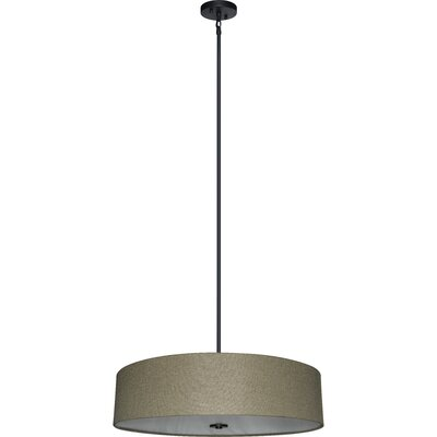 Olivo 5-Light Drum Chandelier Shade Color: Woven Basket