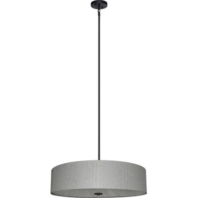 Olivo 5-Light Drum Chandelier Shade Color: Oklahoma Wheat