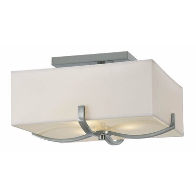 Soho 3-Light Semi-Flush Mount