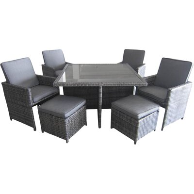 Epione 9 Piece Dining Set