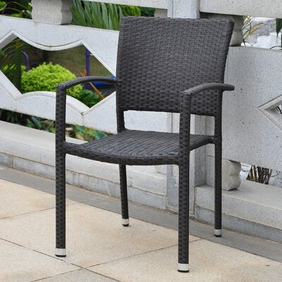 Katzer Stacking Dining Arm Chair