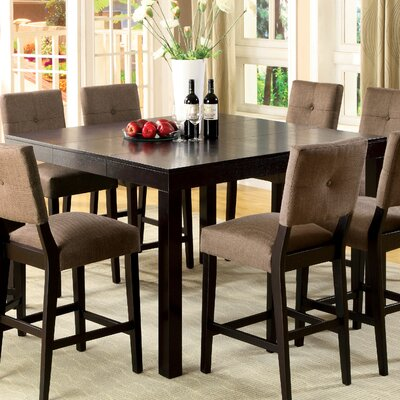 Fairlee 7 Piece Counter Height Dining Set