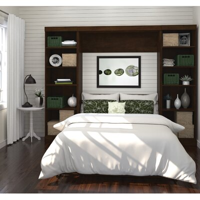 Walley Full/Double Murphy Bed Finish: Chocolate