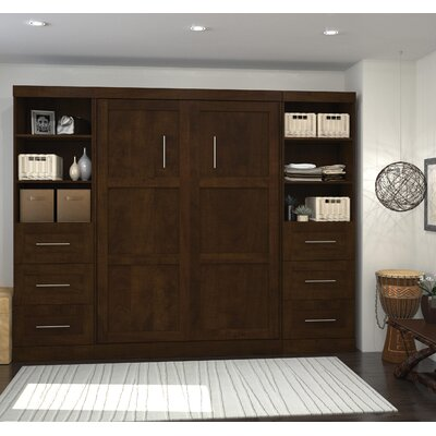 Walley Full Murphy Bed Finish: Chocolate