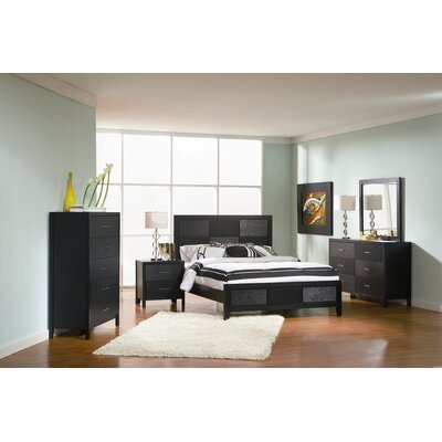 DeBary Panel Configurable Bedroom Set