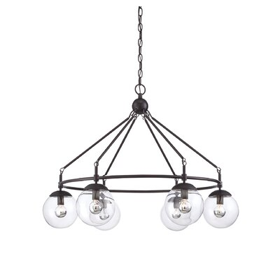 Gossard 6-Light Shaded Chandelier
