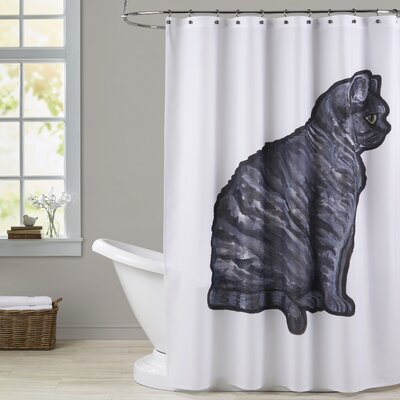 Harpe English Short air 2 Shower Curtain