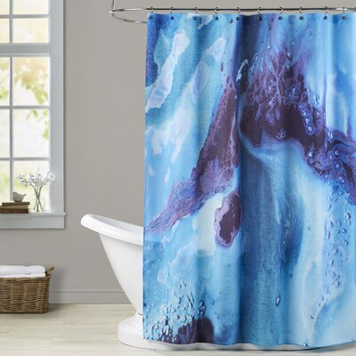 Deb McNaughton Dark Marble 2 Shower Curtain