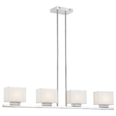 Chavarria 4-Light Pendant Finish: Chrome