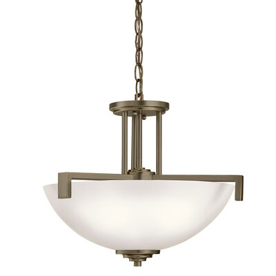 Esmont 3-Light Pendant /Semi Flush