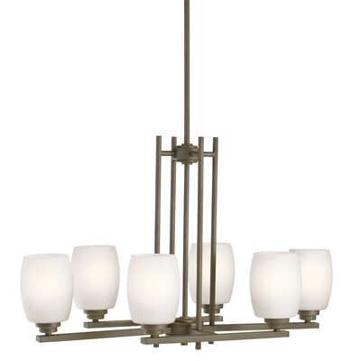 Esmont 6-Light Shaded Chandelier