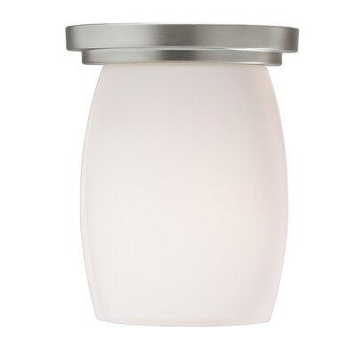 Esmont 1-Light Flush Mount Finish: Brushed Nickel