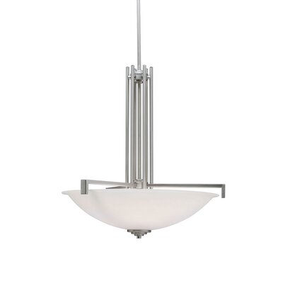 Esmont 4-Light Inverted Pendant Finish: Brushed Nickel