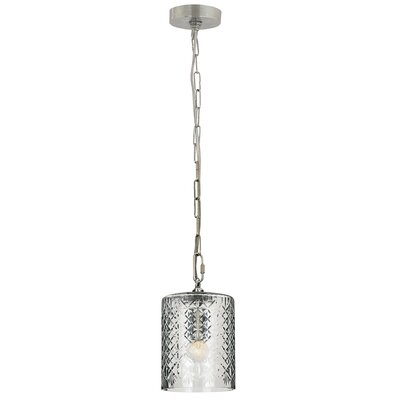 Euripides 1-Light Mini Pendant Size: 10 H x 6 W x 6 D