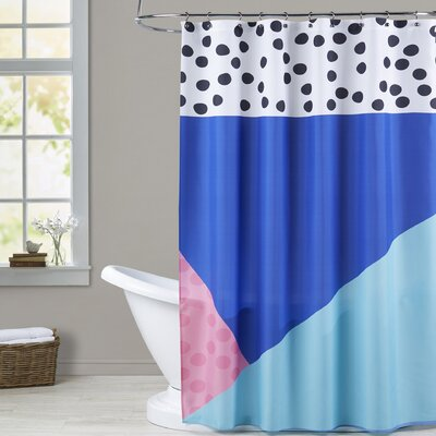 Ashlee Rae Dotti Two Shower Curtain