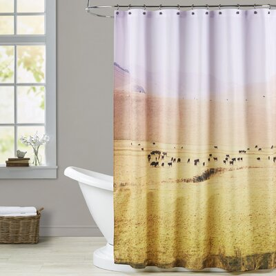 Mina Teslaru Coastal Farm Shower Curtain