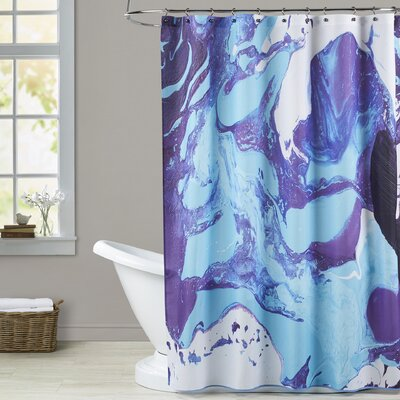 Deb McNaughton Marble Shower Curtain