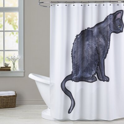 Lemen Cat 2 Shower Curtain