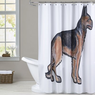 Tabron German Shepherd Shower Curtain