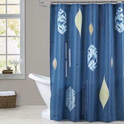 Hintz Feather Shower Curtain