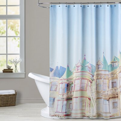 Mina Teslaru San Francisco Tops 2 Shower Curtain