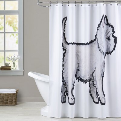 Andresen Westie Shower Curtain