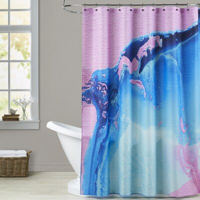 Deb McNaughton Blur Shower Curtain
