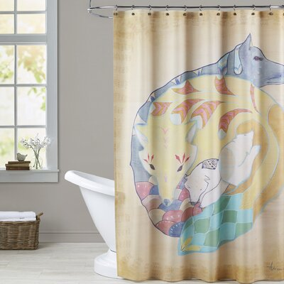 Wilbert Shower Curtain