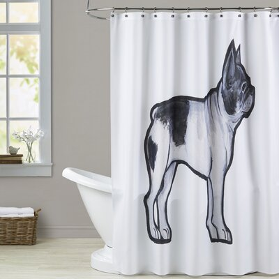 Carle French Bulldog Shower Curtain