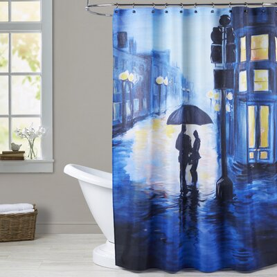 Condie Harvard Square Shower Curtain