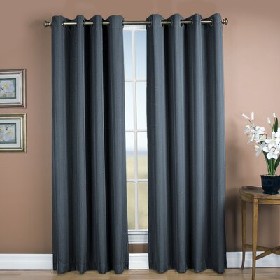 Louie Grommet Single Curtain Panel