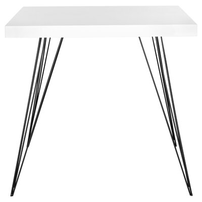 Motta Accent Table Top Color: White